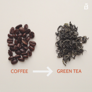 Green Tea and Coffee