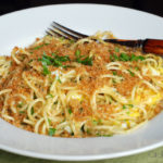 Spaghetti with Egg and Pangritata