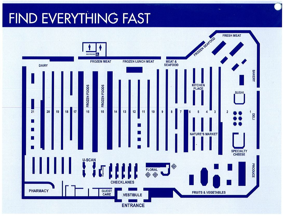 Kroger Store Layout Jughandle S Fat Farm