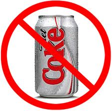 no diet drinks