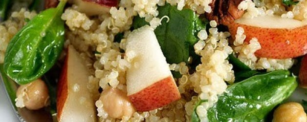 Quinoa Salad Recipe with Pears and More