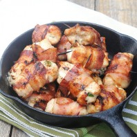 Bacon-Wrapped Jalapeno Chicken Bites – Recipe