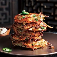 Potato/Cilantro Latkes – Recipe