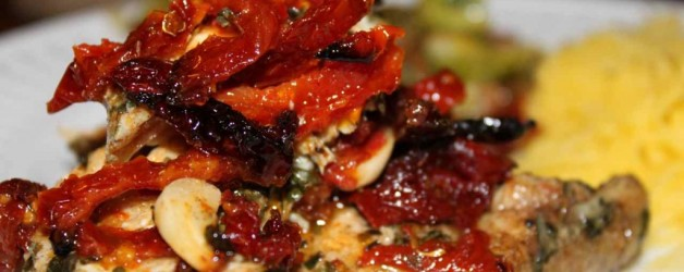 Baked Chicken and Sun Dried Tomatoes